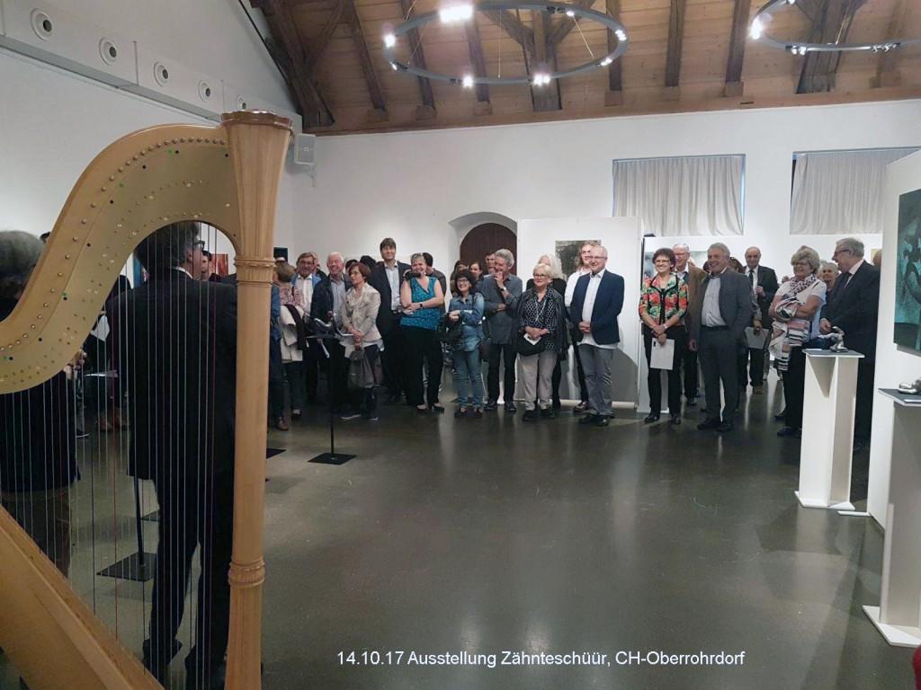 Austellung Thomas Welti – Galerie Zähnteschüür